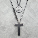 UNLIMITED CROSS NECKLACE PLUS EAGLE SPIRIT NECKLACE