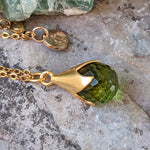 TULY PERIDOT GOLD NECKLACE