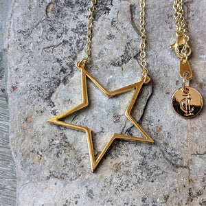 STAR GOLD NECKLACE