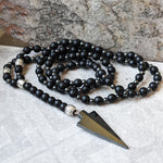 ANDINO ARROW HEMATITE NECKLACE