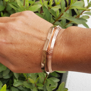 TRIBAL LINEAL ROSE GOLD BRACELET