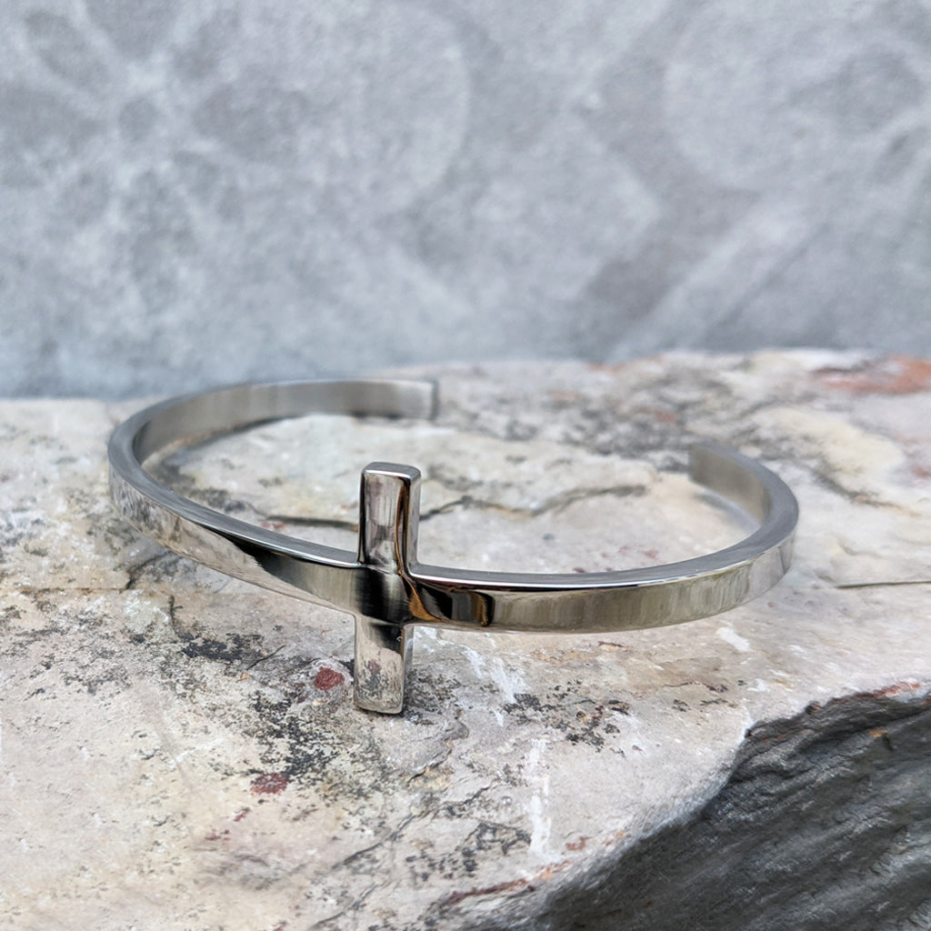CROSS STEEL SILVER BRACELET