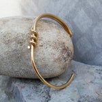 TWISTED GOLD BRACELET