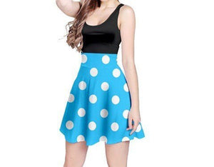 Adult Minnie Mouse Costume - Blue