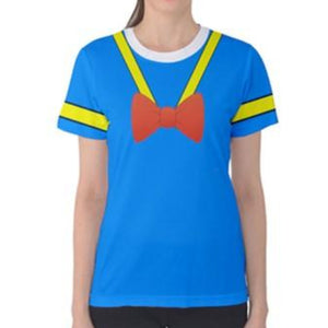 Woman Donald Duck Tshirt