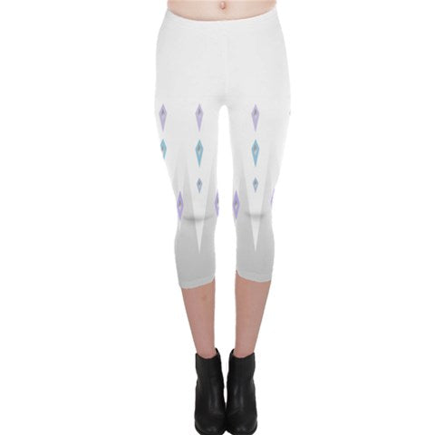 White Elsa leggings - Frozen 2 Costume