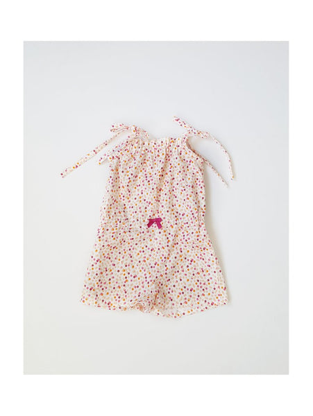 Nikki Romper in Dots