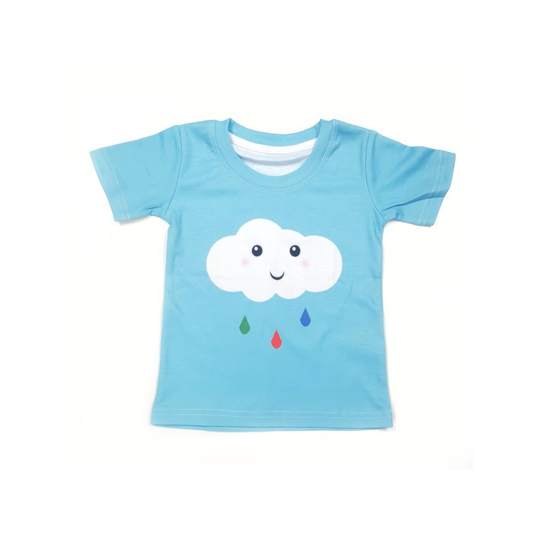 Happy Cloud Blue Tee