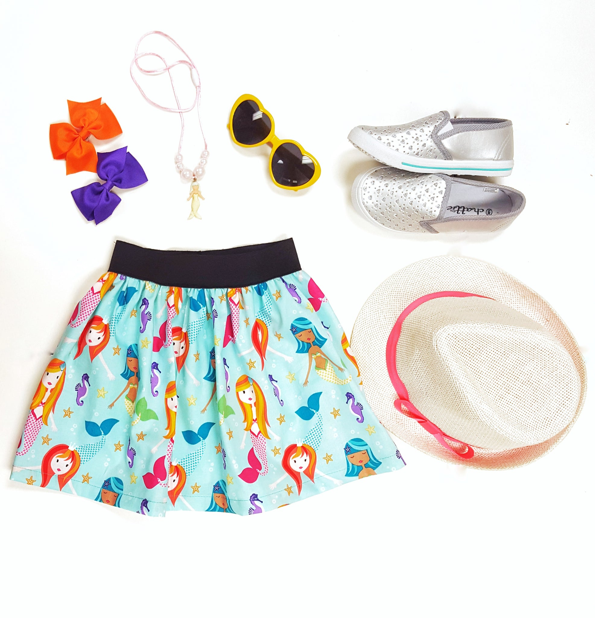 Mermaids Under the sea Skirt