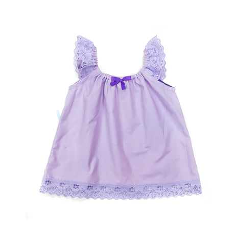 Lilac Lacey top