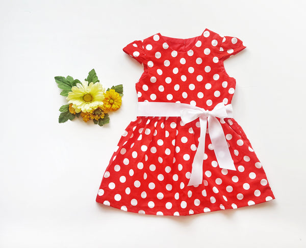 Red Dots Dress