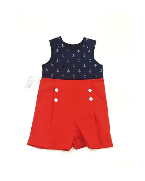Anchors Romper for Boy