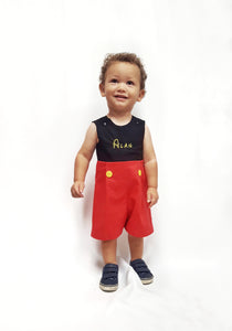 Mickey Romper for Boy