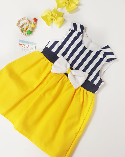 Matilda Dress (Yellow)