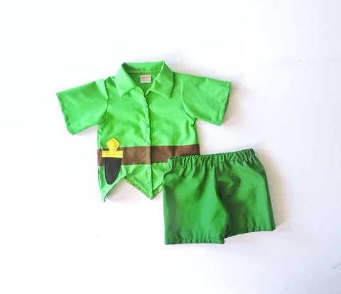 Peter Pan Set Costume