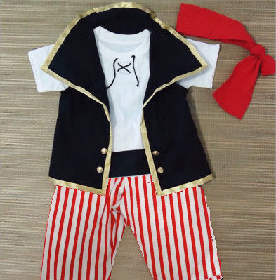 Pirate Costume ( in red stripes)