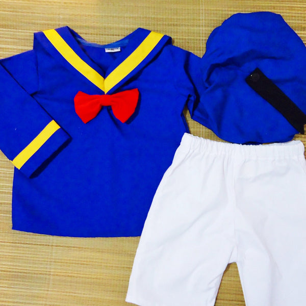Donald Duck Set (in Shorts)
