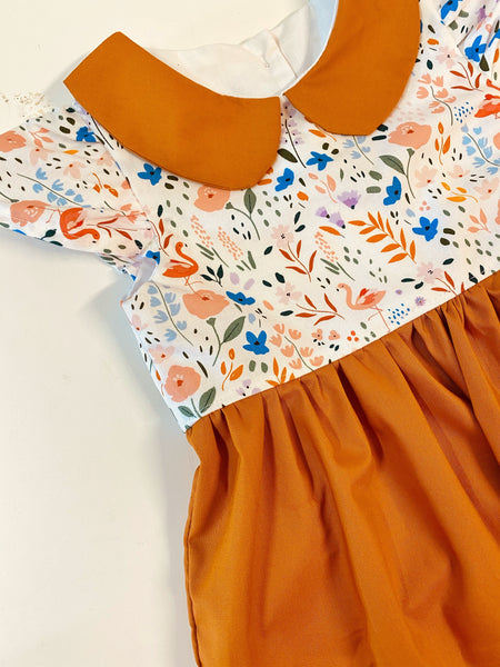 Flamingo Dress - Rusty Collection