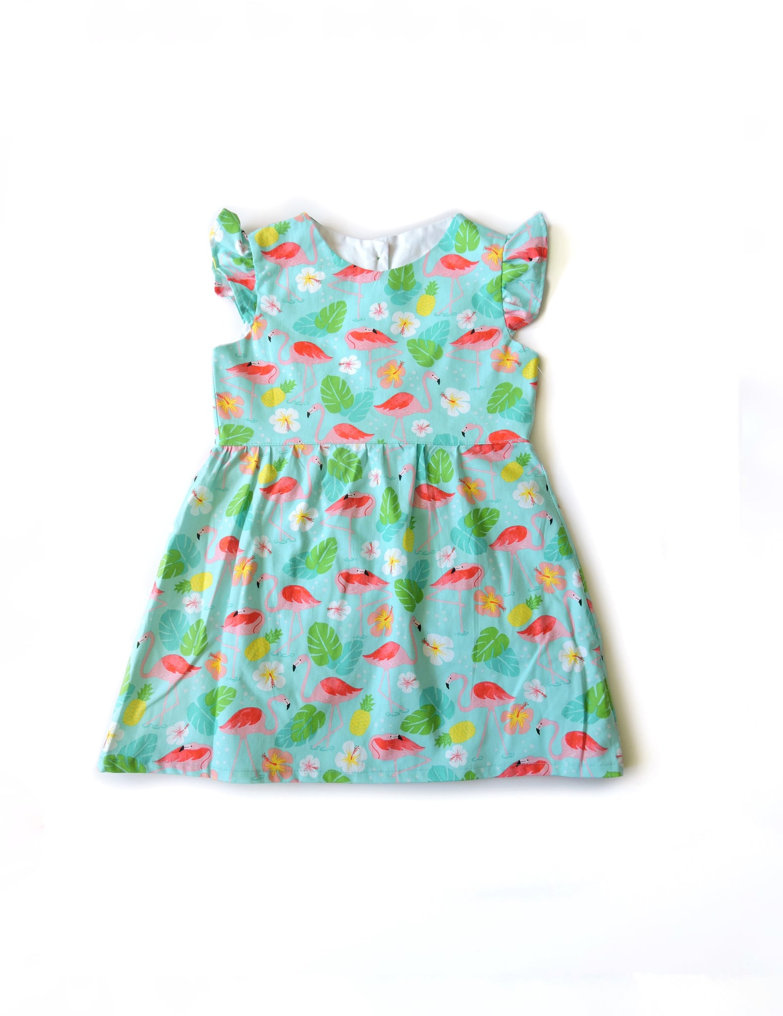 Flamingo Pond Dress