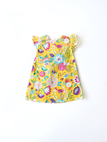 Yellow Garden Dress