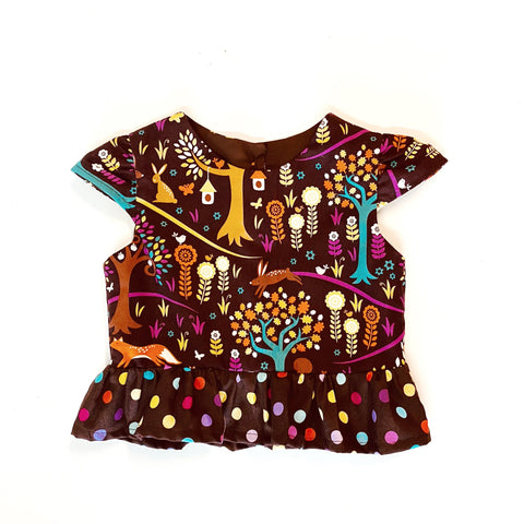 Woodland Top for Girls