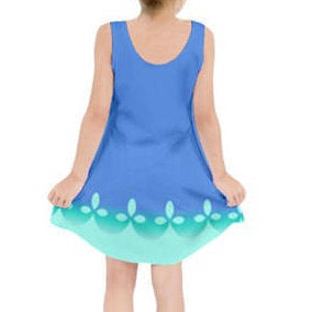 Trolls Princess Poppy Dress Girl
