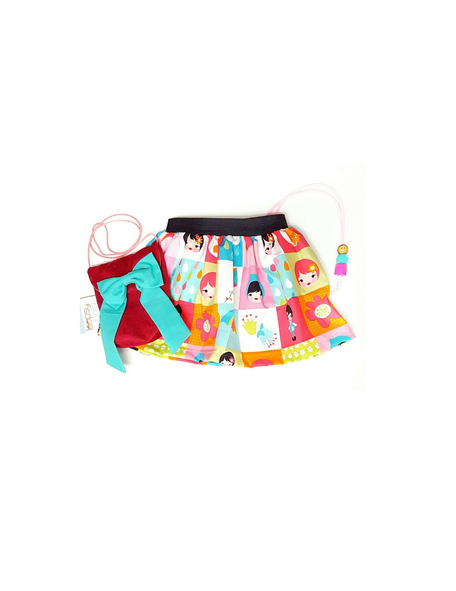 Rainbow Girls Skirt