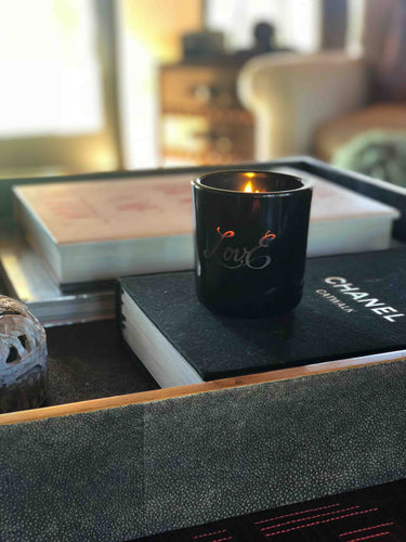 LovE Limited Edition Soy Candle - Black
