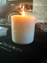 LovE Limited Edition Soy Candle - White