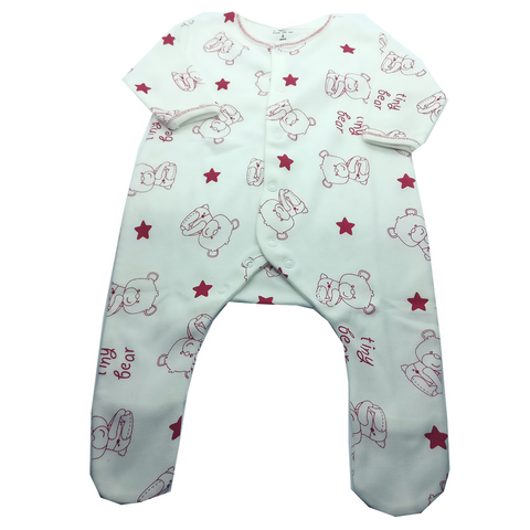Baby Romper - Feather soft