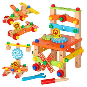 Wooden Chair Assembling & Model Building Kit