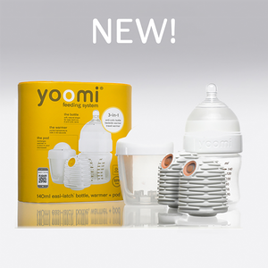 #Clever Bottles # Self Warming - Yoomi 5 oz double warmer