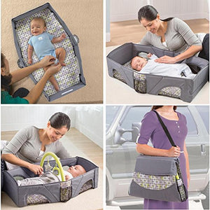 Baby Portable Travel Bed ( Colour May Vary)