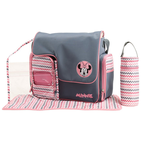 Disney Minnie Mouse 5 Piece Diaper Bag Set