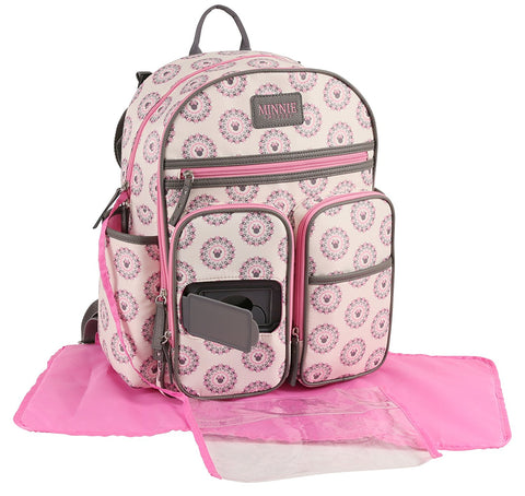 Disney Minni Mouse- Diaper Bag Set