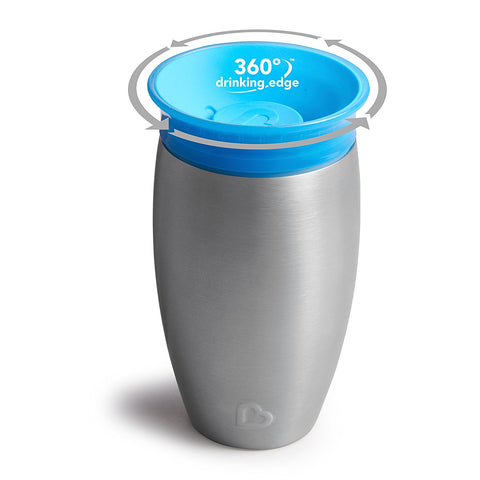 Stainless Steel 360 Sippy Cup