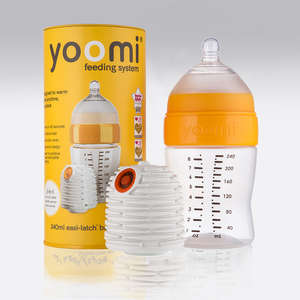 #Clever Bottles # Self Warming - Yoomi 8oz