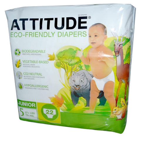 Attitude Eco-friendly - Baby Diapers (Pack of 22)