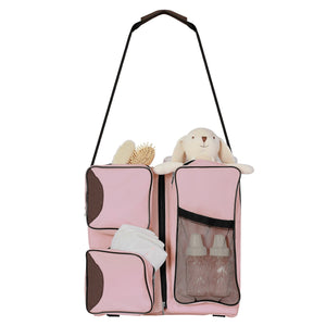 Diaper bag, Portable Napper and changing Station
