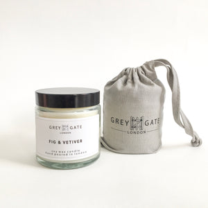 FIG & VETIVER SMALL CANDLE