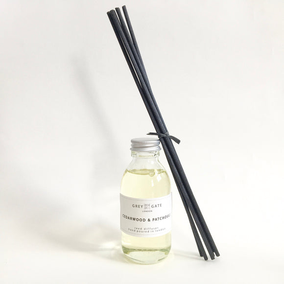 CEDARWOOD & PATCHOULI REED DIFFUSER