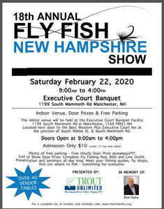 Merrimack River Valley Trout Unlimited - Fly Fish New Hampshire Show