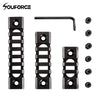 3/5/7 Slots Picatinny Aluminum Rail Set And Screws For Keymod Handguard Rifle Mount Accessories(3-Slot 5-Slot 7-Slot) Hunting