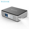 Maxoak 5200Mah 18650 Mini Power Bank Portable External Battery Digital Display Charger Mobile Phone Power Bank
