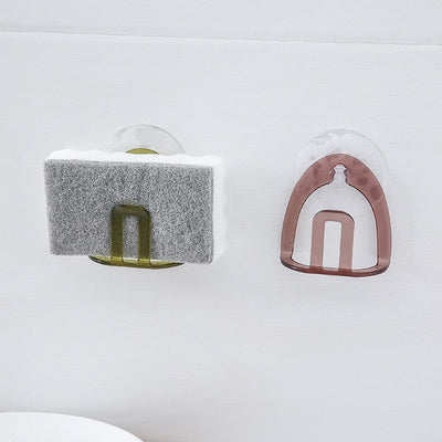 High Quality Suction Sink Drain Rack Sponge Storage Holder