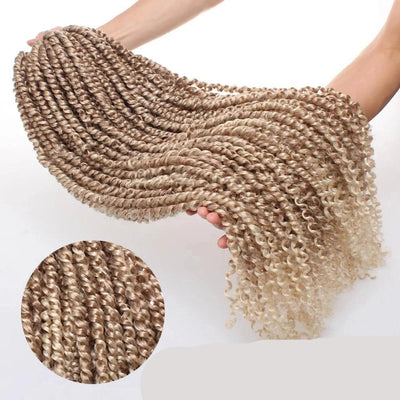Strands Twisted Fluffy Crochet Braid Hair
