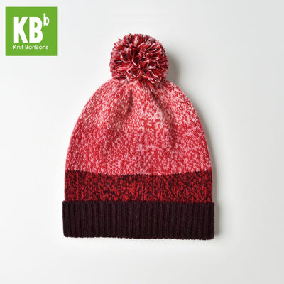 2017 KBB Spring     Hot Style Comfy Red Women Men Designer Lambswool Wool Yarn Knit Pom Pom Winter Hat Beanie Cap - Dropshipper US