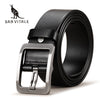 SAN VITALE 100% Cowhide Genuine Leather Belts for Men Brand Strap Male Pin Buckle Fancy Vintage Cowboy Jeans Cintos Freeshipping - Dropshipper US