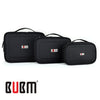 BUBM 3 Pcs/Set Black Waterproof Portable Travel Organizer Case Functional Cosmetic  Bag For iPad Mini iPhone Gopro Camera - Dropshipper US