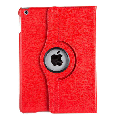 For Case Apple iPad 2 iPad 3 iPad 4 PU Leather Smart Stand Flip Case Cover 360 Rotating Screen Protector Film Stylus Pen Gifts